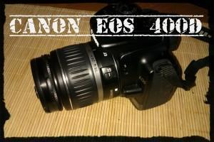 Canon EOS 400D und Olympus SP-600UZ