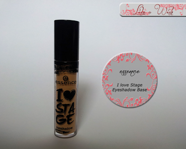 [Review] essence I Love Stage Eyeshadow Base