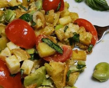 Bratkartoffelsalat mit Senf-Dressing