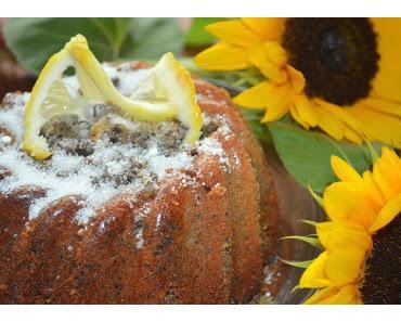 Rezept: Mohn-Zitronen Kuchen