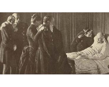 15. Jun. 1888: Kaiser Wilhelm II. besteigt den Thron