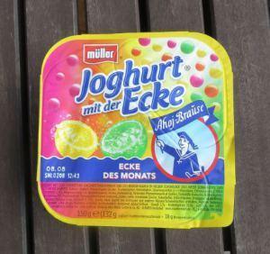 Nicht noch einmal: Joghurt mit der Ecke — Ahoj Brause