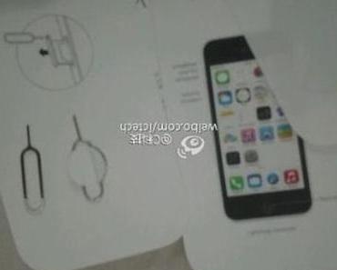 iPhone 5C: Neue Modelle, Schutzhüllen, Cases, Anleitung, SIM-Tool, Verpackung aufgetaucht