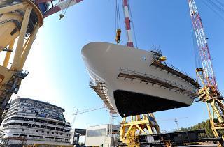 Costa Kreuzfahrten: Costa Diadema: Nächster Bauabschnitt abgeschlossen