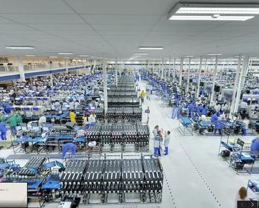 Virtueller Spaziergang durch die #MotoX Fabrik