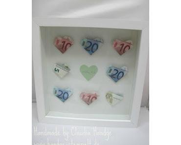 Origami Hochzeitsgeschenk