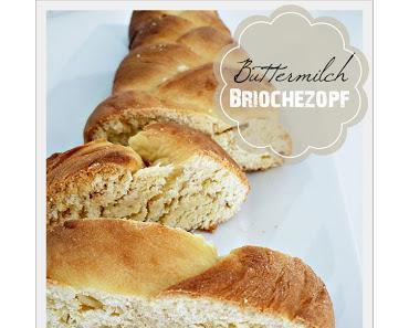 Mini Buttermilch-Briochezopf