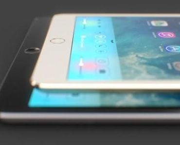 iPad 5 und iPad mini 2 auch mit Touch-ID (Fingerabdrucksensor) und in Gold?