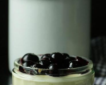 White-Chocolate-Cheesecake-Blueberry-Dessert... Neue Variante für alle Cheesecake-Freaks!