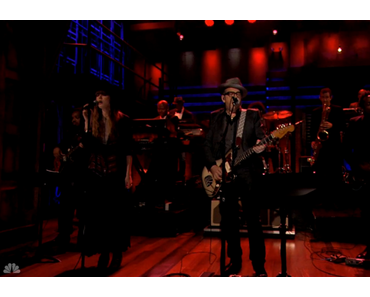 Elvis Costello & The Roots live bei Jimmy Fallon