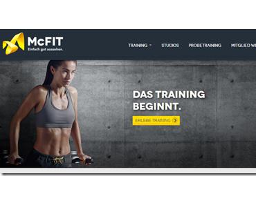 Midweek Webshow: McFit hat eine neue Webseite