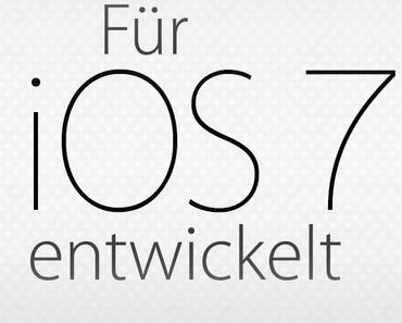 """iOS 7: 100 Tipps und Tricks, App Store zeigt """"Für iOS 7 entwickelt"""" Apps"""
