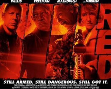 Review: R.E.D. und R.E.D. 2 - Die alten Säcke lassen die Fäuste fliegen