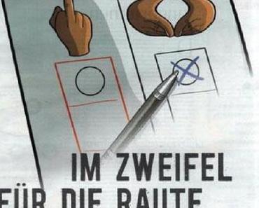 Bitte keine WAHL-BILD einwerfen!
