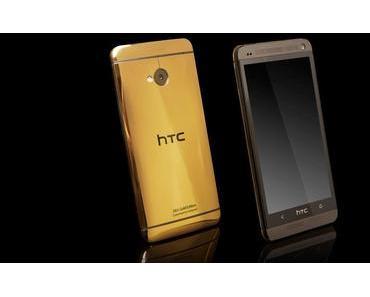 #HTCOne in der Luxusversion bei Goldgenie bestellen