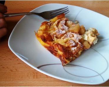 Apple Puff Pancake (amer. Apfelpfannkuchen aus dem Ofen)