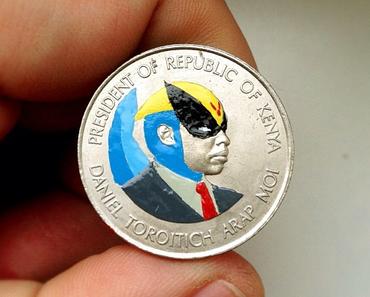 Portraits auf Münzen von Andre Levy
