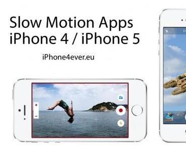 Slow Motion Videos mit dem iPhone 5 / iPhone 4 aufnehmen