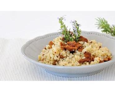 Veganer Dienstag – Eierschwammerl Risotto fructosearm