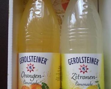 Limonade mit Stern – Gerolsteiner macht jetzt auch Limo
