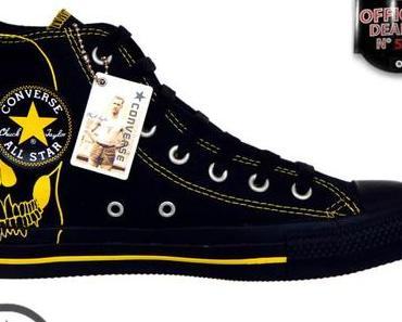 #Converse Chucks All Star Chuck Taylor Sneakers 1U571 Skull Totenkopf