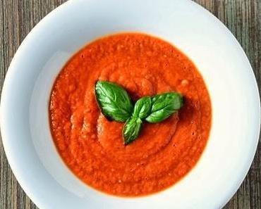 Suppe von ofengerösteten Tomaten oder auch: beste Tomatensuppe ever!
