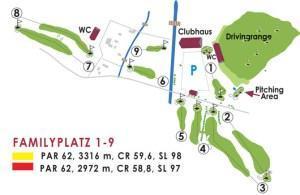 9 Loch Golfplatz – Familyplatz in Golf in Wall