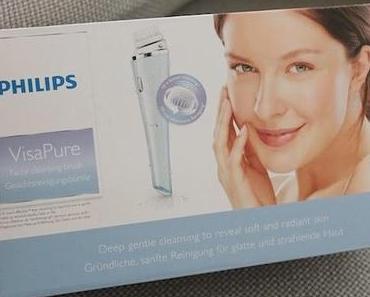 """Meine neue Gesichts-Routine mit """"VisaPure"""" von Philips!"""