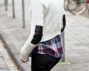 OUTFIT I SHIRT AND STRICK SWEATER