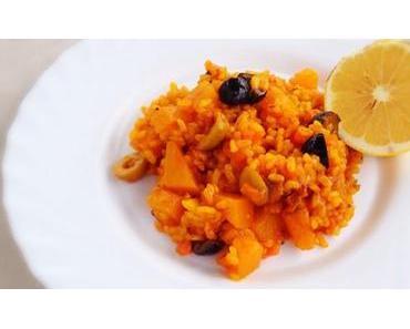 Kürbis Paella vegan & fructosearm