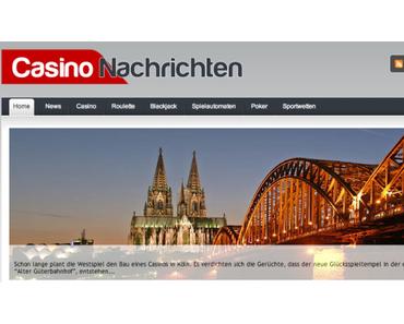 Nachrichten aus der Welt der Casinos und des Glücksspiels