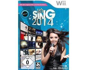 Let's Sing 2014 - Ankündigung für die Wii