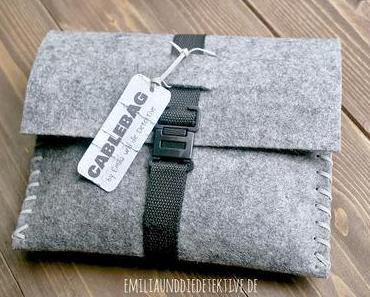 DIY Cable Bag Anleitung - nicht nur ein Geschenk für Männer!