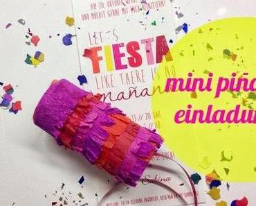 DIY // Mini Pinata Einladungskarten