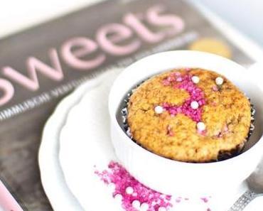 Himbeer-Heidelbeer-Orangen-Muffins (vegan, laktosefrei)