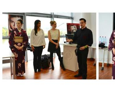 Shiseido Event Workshop mit der japanischen Beauty Consult Shoko Khan und Make Up Artist Sascha Nic Lawrenz