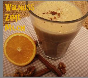 Walnuss-Orangen-Zimt-Milch