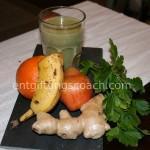 Kräuter-Smoothie mit Birnen