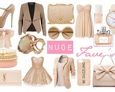 Wishlist: Nude Fave's