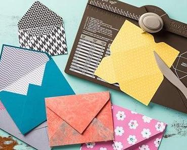Stanz- und Falzbrett für Umschläge - Stampin' Up! Envelope Punch Board