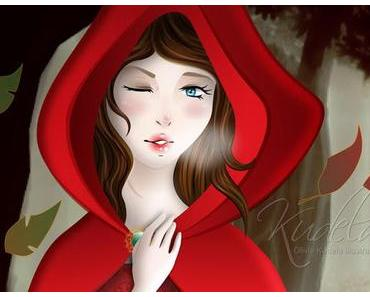 [Illustration] Red Riding Hood + Gif