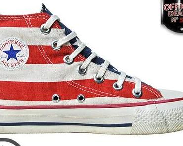 #Converse Chucks All Star Chuck Taylor Sneakers Made in USA – FLAG – Vintage