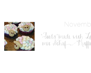 Schaf-Muffins von 'Foods made with Love'