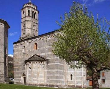 Beachtenswerte romanische Kirche am Ufer des Comer Sees