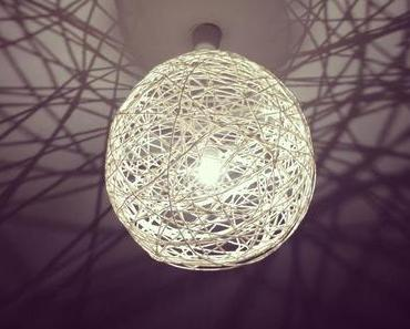 DIY Fadenlampe