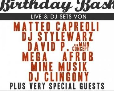 DJ Vito's & Sam Semilia's Birthday Bash im Knust in Hamburg