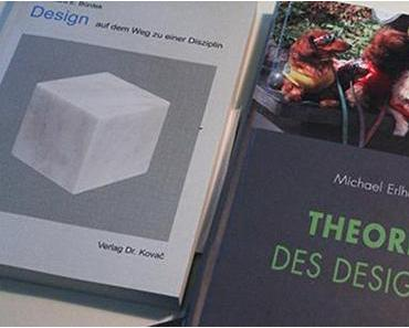 UNRUHESTAND: Erlhoff und Bürdek mit neuen Büchern