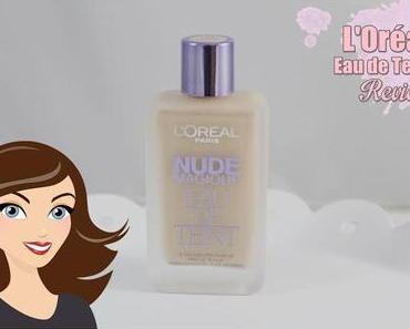 L'Oréal Nude Magique 'Eau de Teint' 120 Pure Ivory *Review*