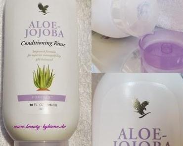 Aloe Jojoba Conditioning Rinse für gesundes Haar mit Glanz und Geschmeidigkeit.