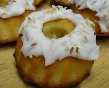 Zitronen-Kokos-Kuchen und der 3. Blog - Geburtstag